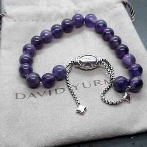 David Yurman  Spiritual Beads Bracelet Amethyst